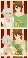 Photobooth: Lublin and Nyune by Crumelody
