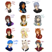 AU Staff headshots by Aibyou