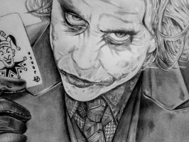 Joker  Close Up by HoustonTxArtist