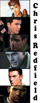 Tribute to all Chris Redfield by redfield37