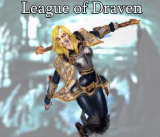 League of Draven - Lux by SirShepard