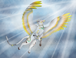 Guardian Of The Sky by AngeI-Spirit