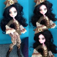 Anna-Maria queen of steampunk pirates ooak 2 by Sonkisonki