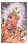 Ruby Rhod Fifth Element Watercolors by ssava