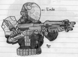 Halo:Reach-Emile by Izaak94