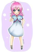 Commission- Dawn Chibi- YumeHimura by LiSArtz