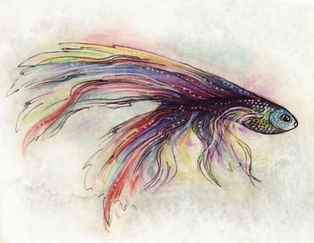 Rainbow fish by theDeathspell