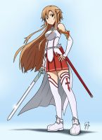 SAO Asuna by GlancoJusticar