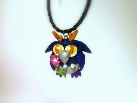 Wyllow the Boomkin w/ Morning Glory Flower by Euphyley