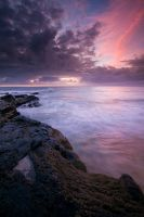 Jeffreys Bay Sunrise by hougaard