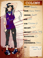 The Colony application: Aveline Rosario by BestNess