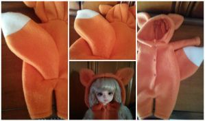 Fox YoSD Kigurumi by Dolly-Lover