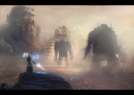 Attack On Hyperion v3 by MarkGraphics