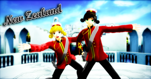 [MMD APH NC] New Zealand ver. 1.6 UPDATE by FBandCC