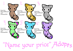 NAME YOUR PRICE ADOPTS! by LoveIsForeverAlways