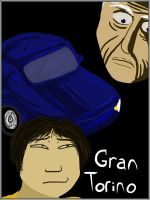 Gran Torino Movie Poster by tiridako
