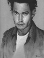 Johnny Depp by gammon