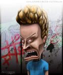 Beavis from beavis and butthead by AtomiccircuS