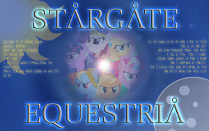 Stargate Equestria Wallpaper by BC-Programming
