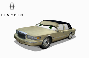 Lincoln Town Car 1997 by Mashak-B