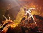 St. George and the dragon ultimate challenge by Julianez