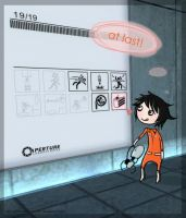 Portal-Death Note - Cake Note2 by herman-the-handyman