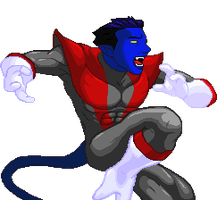 Nightcrawler for XMvSF Style by TopperX