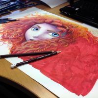 Merida teaser by AtomiccircuS