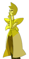 Yellow Diamond by ClaraKerber