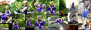 Zidane Tribal cosplay complete by Grethe--B