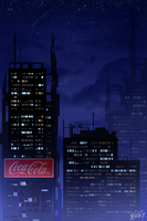 Coca cola city by MissKvitulven