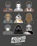 The Force Awakens - Icons by Bluemutantfreak