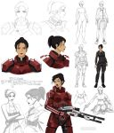 Mass Effect female design (commission) by Precia-T