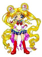 Super Sailormoon: Colored by saphi-saphi