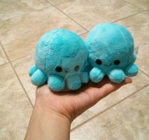 blue octopus plushies by Love-Who