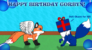 Corbyn's Birthday Surprise by Tails230
