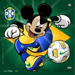 Brazil Soccer Mickey by jpnunezdesigns