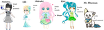 My Other Charactes by choulian
