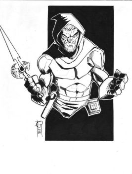 #Inktober Day Six Dreadstar by MentalPablum