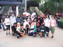 Our Amazing Naruto Group by CrimsonRoses