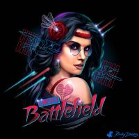 Love is a Battlefield by RockyDavies