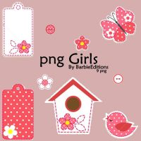 png girls by BarbieEditionsYT