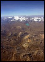 Andes from the air 5 by Dominion-Photography