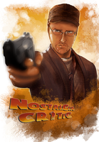 Nostalgia Critic DVD Cover (Contest) by Kachumi