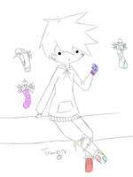 [Request] Mismatched Socks by TheTrampsy
