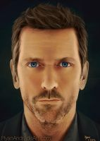 Hugh Laurie by GloriousRyan