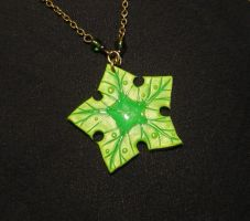 Treestar - Littlefoots Lucky Charm - Necklace by Ganjamira