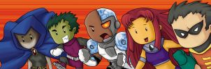 Teen Titans Scribblenauts by curs