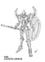 The Legend Armor, Sketch by skywarp-2