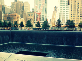 ::9/11 Memorial North Pool:: by grvtii
